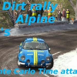 Dirt Rally // Time Attack  // Alpine // Monte Carlo