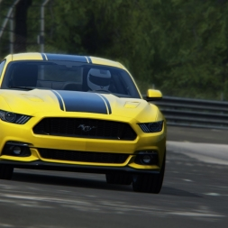 Assetto Corsa | Ford Mustang 2015 | Nordschleife Tourist | 7:35.228 | Balazs Toldi OnBoard