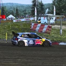 Assetto Corsa Rallycross  multijoueurs Track Holjesrx VW Polo R WRC download mod (serveur STX)
