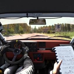 Dirt Rally Finland Kailajärvi Renault 5 Turbo