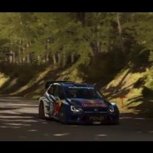 Dirt Rally Allemagne Baumholder Waldaufstieg Volkswagen Polo Rally