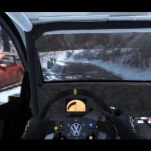 Dirt Rally Monte-Carlo Pra d'Alart  Polo Rally Volkswagen 6.29.067
