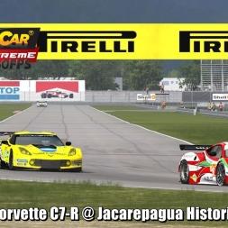 Corvette C7-R @ Jacarepagua Historic Driver's View - Stock Car Extreme 60FPS