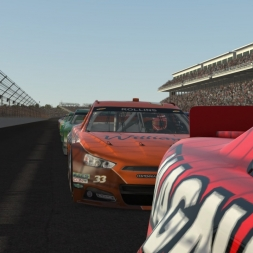 rFactor 2: Stock Cars:  30 Laps at The Brickyard