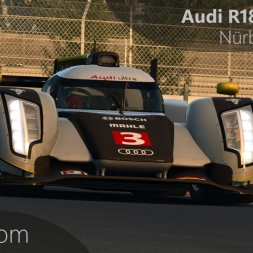 RaceRoom Audi R18 TDI Ultra Onboard Nürburgring GP