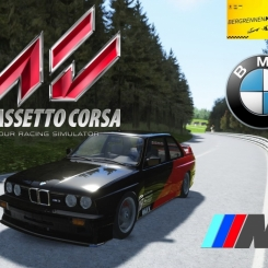 Assetto Corsa :: BMW M3 E30 Step 1 @ Bergrennen Mickhausen :: FULL ON BOARD