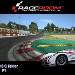 Audi R18 @ Zolder - P1 - RaceRoom Racing Experience 60 FPS