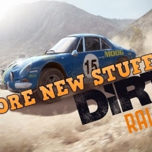 DIRT RALLY, RENAULT ALPINE, NEW STUFF