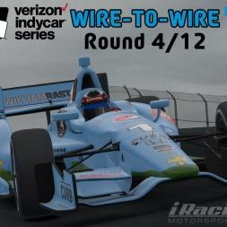 """iRacing: Wire-to-Wire"" (IndyCar Open Series - Round 4/12 - Mazda Raceway Laguna Seca)"