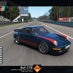 Project CARS: RUF CTR @Monza GP - preview & test lap (Old Vs New Car Pack)