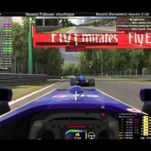 Stream Race - iRacing Formula Renault 2.0 at Monza