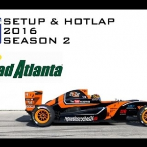 iRacing Formula Renault 2.0 @ Road Atlanta | Setup & Hotlap 1'18.496 | Season 2 - 2016