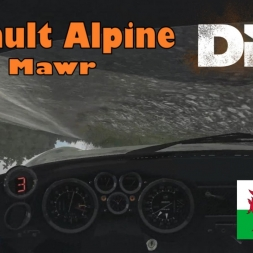 DiRT Rally | Renault Alpine - Wales (Pant Mawr)
