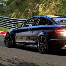 Assetto Corsa- MB C63 Black Series PREVIEW-WIP