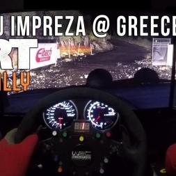Dirt Rally - Subaru Impreza @ Creece Night (Dirt Rally 18€)
