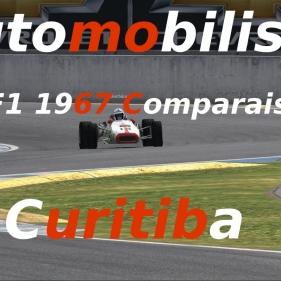 Automobilista // F1 1967 Comparaison // Curitiba