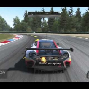 Project Cars: Mclaren 12C GT3 practice