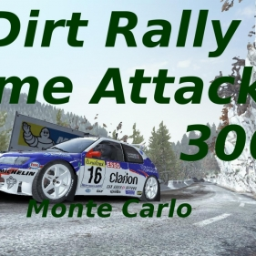 Dirt Rally // Time Attack 12 306 Maxi // Monte Carlo