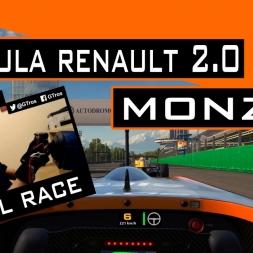 iRacing Race | Formula Renault 2.0 @ Monza | Season 2 - 2016 [Gameplay Español]