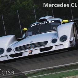 Assetto Corsa Mercedes CLR LM vs Monza
