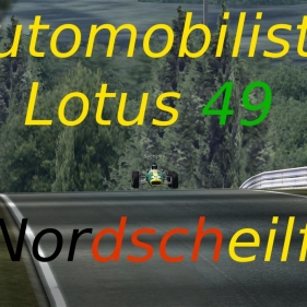 Automobilista // Nordscheilfe // Lotus 49