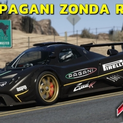 Assetto Corsa - Pagani Zonda R at Black Cat County Full