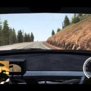 Dirt Rally Pikes Peak  100 % Asphalte Peugeot 208 T16 8 : 04 : 697 (wheelcam)