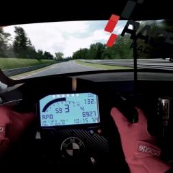 Raceroom - BMW M3 GT2 @ Nordschleife - Onboard triple screen