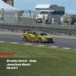 [Rebel Online Racing] WTCC 2015 Hotlap of Brands Hatch  -  46:547