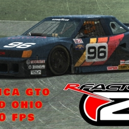 rFactor 2 | Celica GTO @ Mid Ohio | Onboard + TV - #thebrute