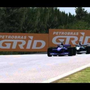 Automobilista: F-V10 / F1 2002 Full Race @ A1 Ring - Austrian GP - Onboard and TV Camera
