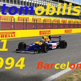 Automobilista // F1 1992 // Senna vs Mansell // Barcelona GP