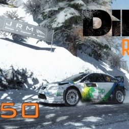 DiRT Rally Gameplay: Necessary Restart - Episode 50