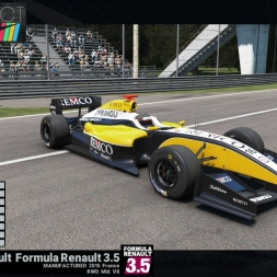 Project CARS: Formula Renault 3.5 @Monza GP - preview & test lap (Renault Sport Car Pack)