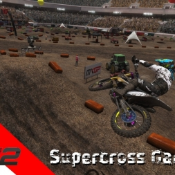"MXGP2 - Supercross Gameplay - (Helmet ""GoPro"" Camera)"