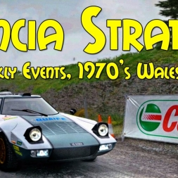 DiRT Rally Immersive Wheel Weekly Events #1 Lancia Stratos, Sweet Lamb 1/6 Stages!
