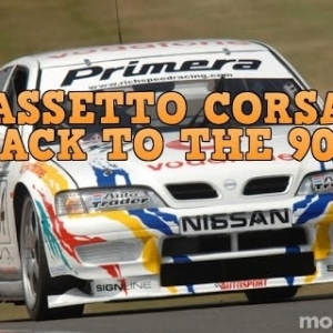 ASSETTO CORSA, BACK TO THE 90'S BTCC NISSAN PREMIER