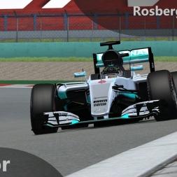 rFactor F1 2016 Rosberg Onboard Shanghai