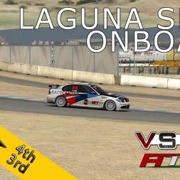 VSR HTCC 2014 | RACE07 |  Mazda Raceway Laguna Seca | Balazs Toldi OnBoard