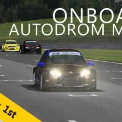 PSRL-VSR Lada Granta Cup 2014 | Autodrom Most | R2 | Balazs Toldi OnBoard