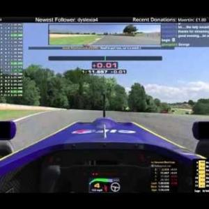 iRacing AOR Formula Renault 2.0 - Round 5 at Road Atlanta