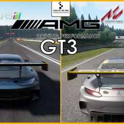 ★ Assetto Corsa (1.5 ) VS Project Cars (10.0) - Mercedes-AMG GT3 at Spa