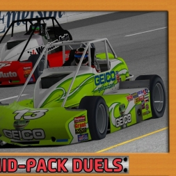 """iRacing: Mid-Pack Duels"" (Silver Crown at Richmond International Raceway)"