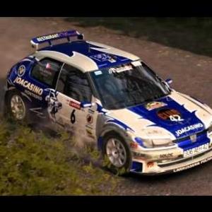 Dirt Rally - David Salanon - 306 maxi -Finland - (PC HD) [1080p]