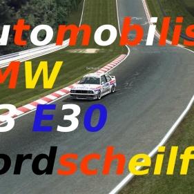 Automobilista // BMW M3 E30 // Nordscheilfe