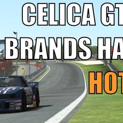 [HD] rFactor 2 - Celica GTO at Brands Hatch HOTLAP