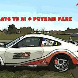 rFactor 2 | Flat6 vs AI @ Putnam Park | Day-Night Transition