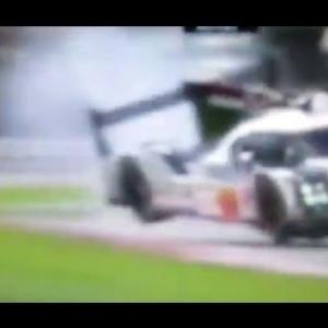 WEC * Incident Porsche LMP1 919 #1 Silverstone 2016