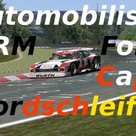 Automobilista // DRM // Ford Capri Turbo // Nordschleife