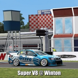 Super V8 @ Winton - Automobilista 60FPS